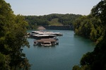 One day we went to the Norris Lake Dam & walked up on the dam to check out the view. It took awhile to walk up the road away from the marina.