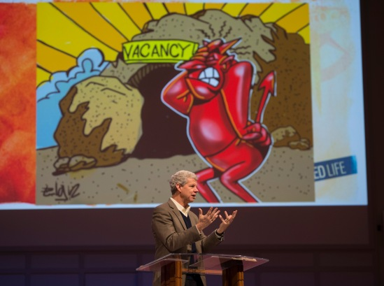 Dr. Brown showed several Easter related cartoons.
