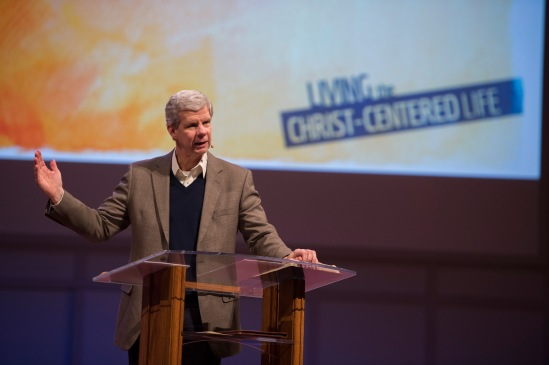 """""""Living the Christ-Centered Life"""" - Our theme & what Dr. Brown has been speaking on this year in Chapel Chapel."""
