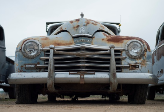 An old Dodge at Kingman Auto Sales.