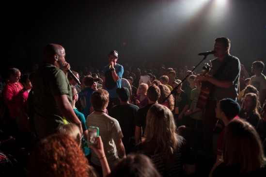 It's always a Camp Electirc favorite when TobyMac does an acoustic set out in the audience.
