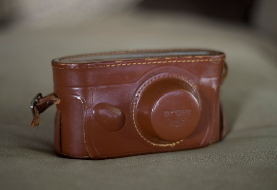 Nice secure leather case.