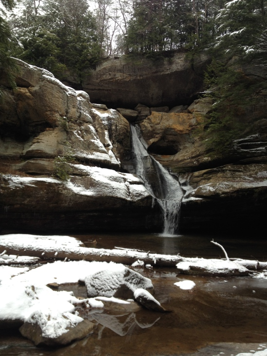 This may just be my favorite view in Hocking Hills, the famous Cedar Falls.
