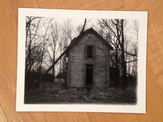 abandoned house on 42