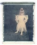 Abby dressup - 4x5 Polaroid transfer - Daylab.