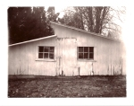 White barn - Expired Polaroid Silk 664.