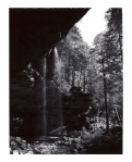 Ash Cave - Polaroid Type 664 shot on a Polaroid 420 Land Camera.
