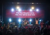 Bellarive did a great job leading worship.