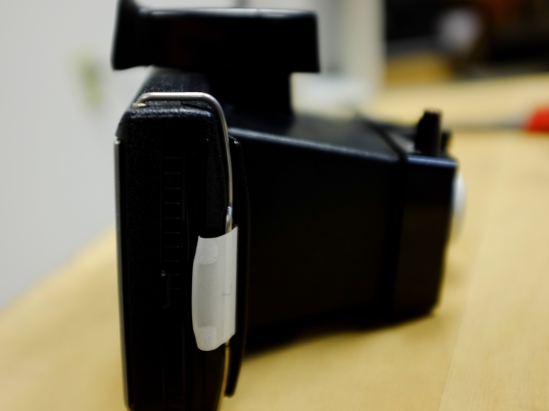 The Polaroid Square Shooter 2 with Polaroid Polacolor Type 88 expired film, Oct. 2005.