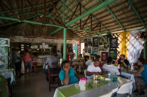 Lunch at El Riconsito Anyuli near the school.