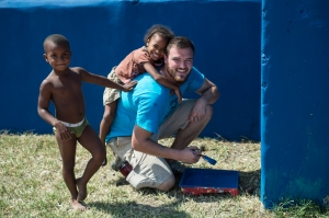 ALL the kids loved Chad and wanted to be around him every moment.