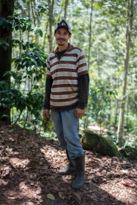 It was evident that David was a very talented & experienced coffee farmer.