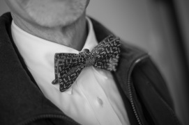 A man and his bow-tie.